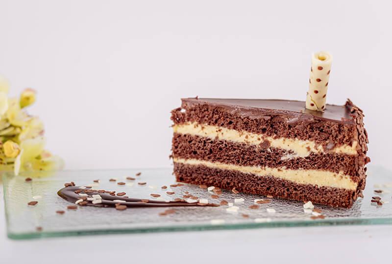 Торта Шоколадово брюле от Marmalad World