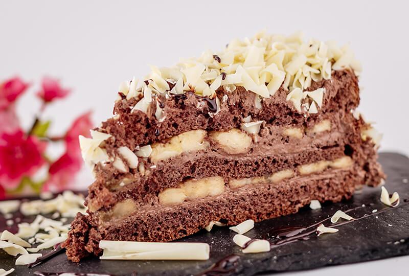Шоколадова торта с банан от Marmalad World