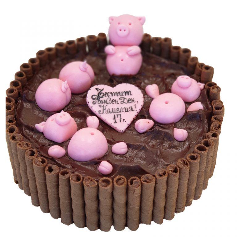 Бутикова торта за рожден ден от Marmalad World